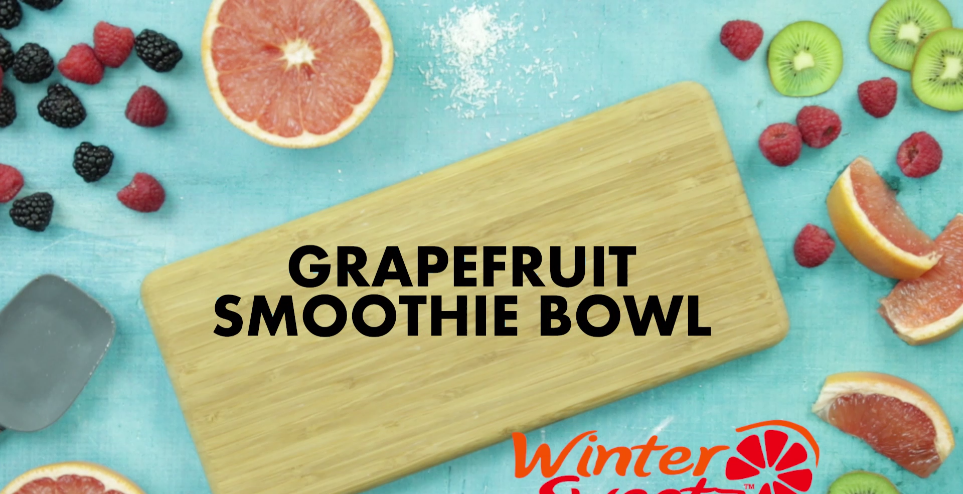 Grapefruit Smoothie Bowl