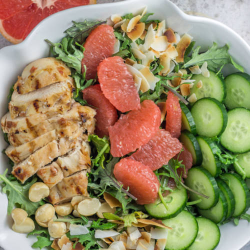 tropical-kale-chicken-salad-with-grapefruit-vinaigrette