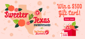 Sweeter in Texas Promotion