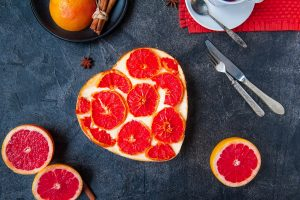 Valentine Grapefruit Dishes